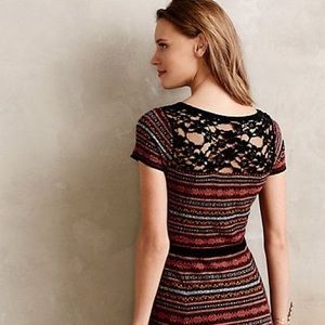 Anthropologie Sparrow Clara sweater dress size S
